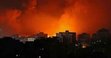 संघर्ष के सातवें दिन इजराइल का बड़ा ऐक्शन,  गाजा में हमास चीफ के घर पर बरसाए बम